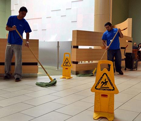 Services de nettoyage commercial