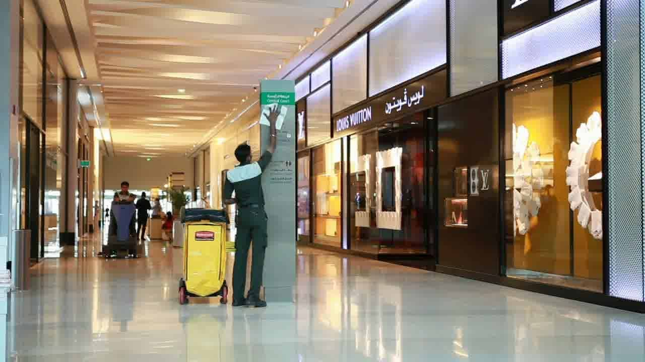 Shopping Malls Cleaning Services Montreal