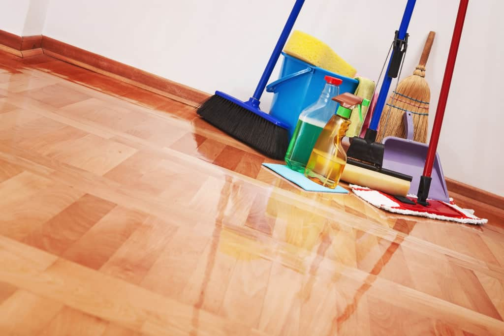 Wood Floor Stain Removing
