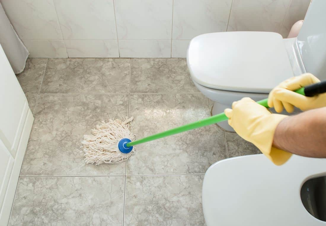 Deep Bathroom Cleaning