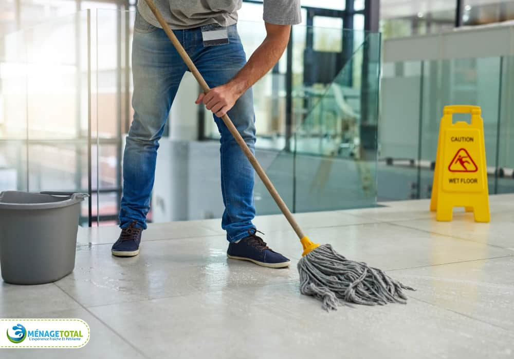 Steps of Commercial Janitorial Cleaning