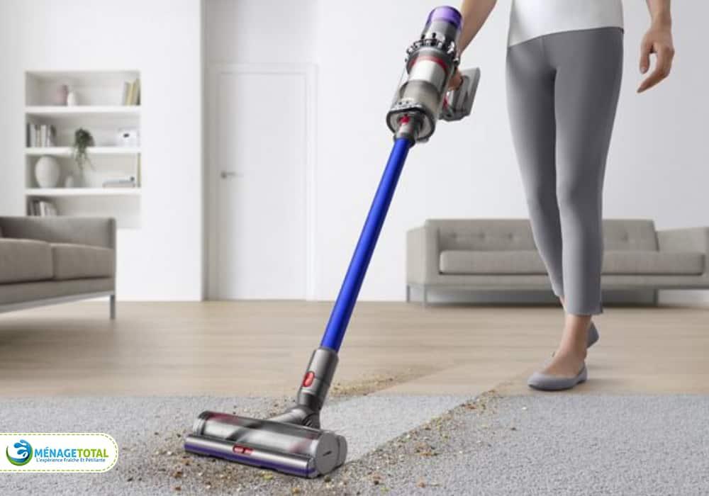 Vacuum the floor