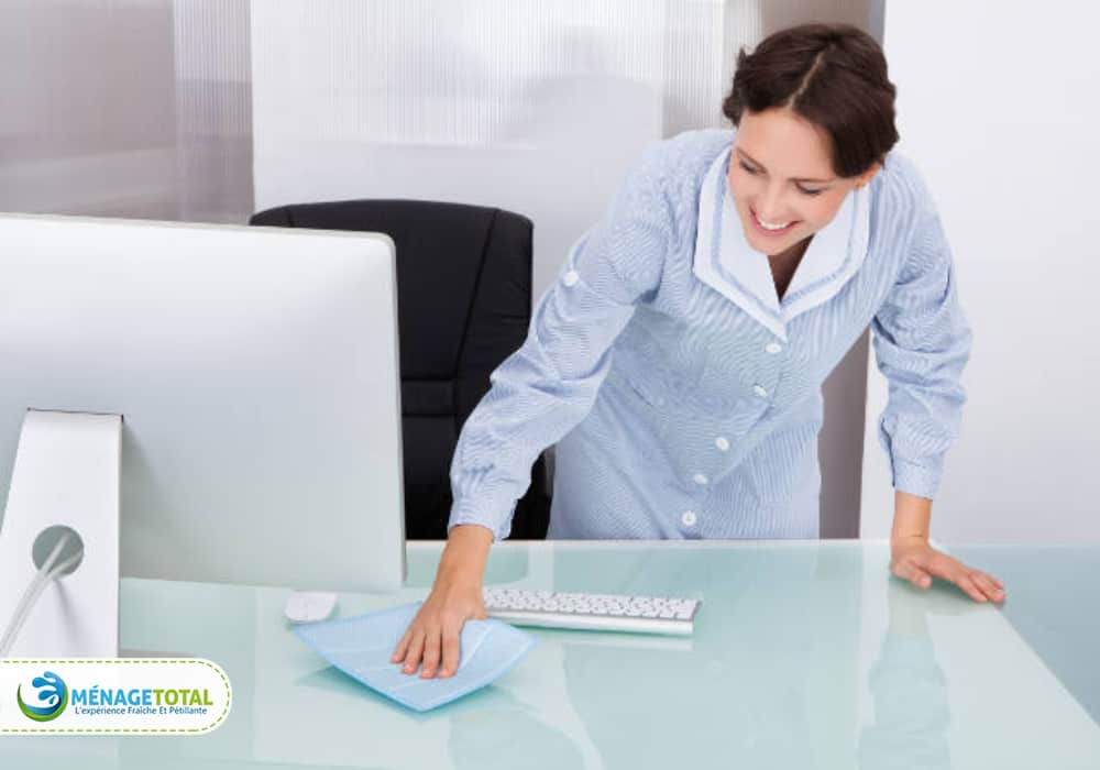 Organize the table and paperwork