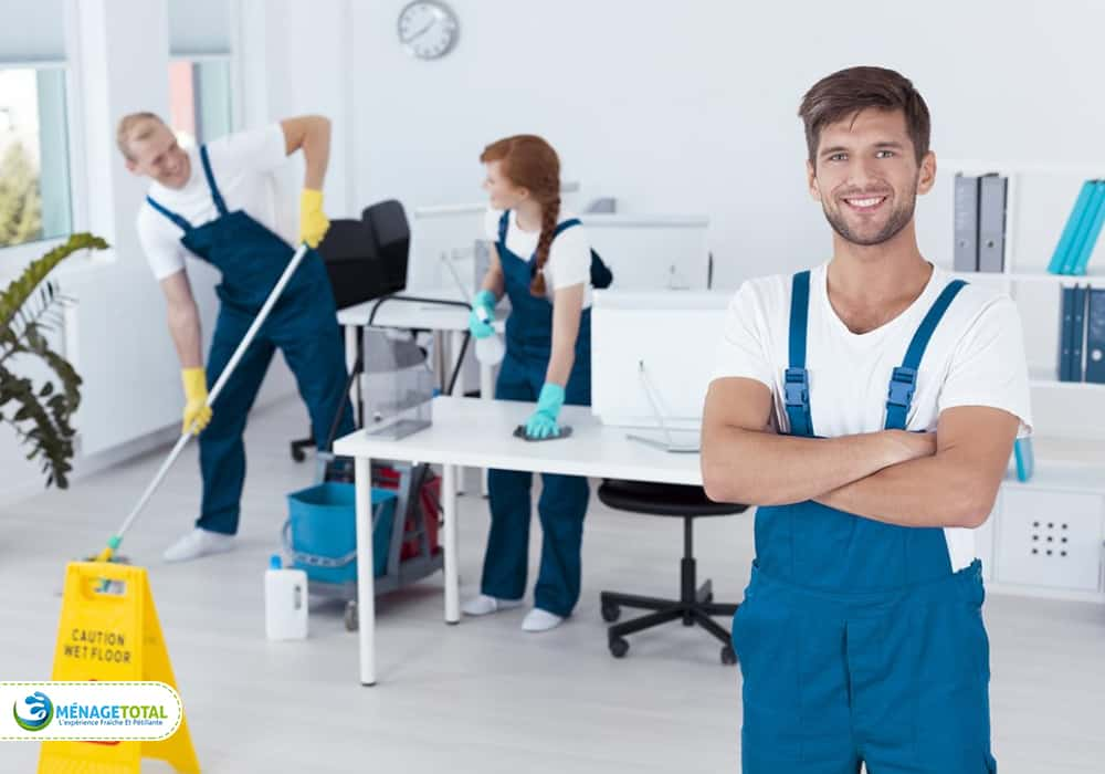 Commercial Building Cleaning Services keep your workers happy.