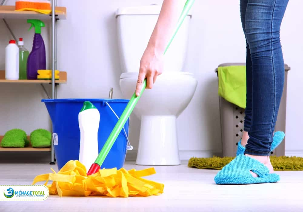deep cleaning for bathroom
